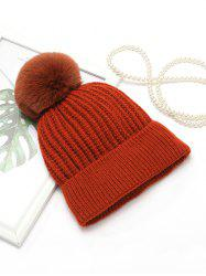 European Winter Simple Knitted Hat -