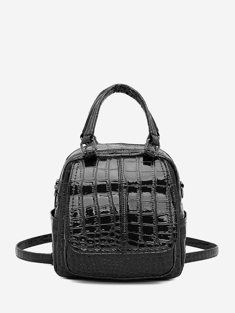 Store Embossed Glossy Backpack