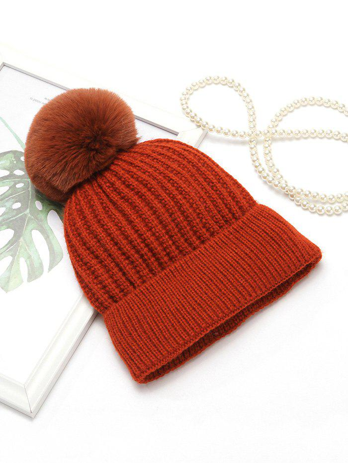 New European Winter Simple Knitted Hat