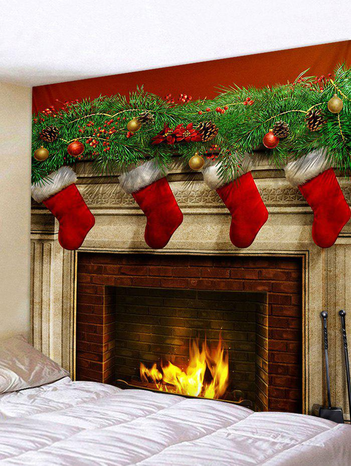 Sale Wall Decor Christmas Pattern Print Tapestry