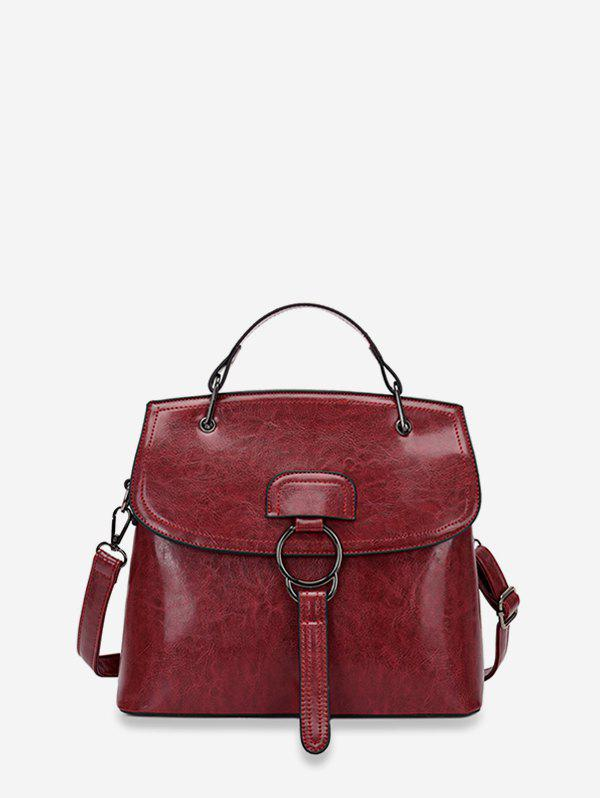 Sale Solid Crossbody Shoulder Bag