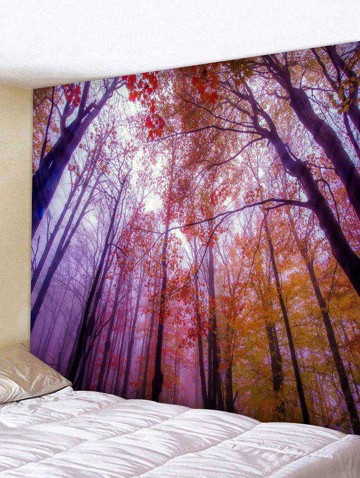 Shop Maple Forest Mist Print Tapestry Wall Hanging Art Decoration