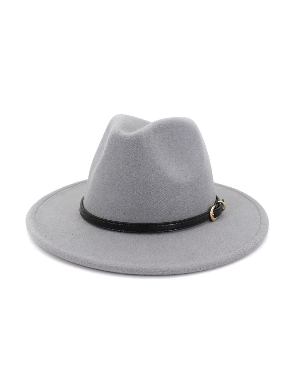 Hot European Jazz Flat-brim Hat