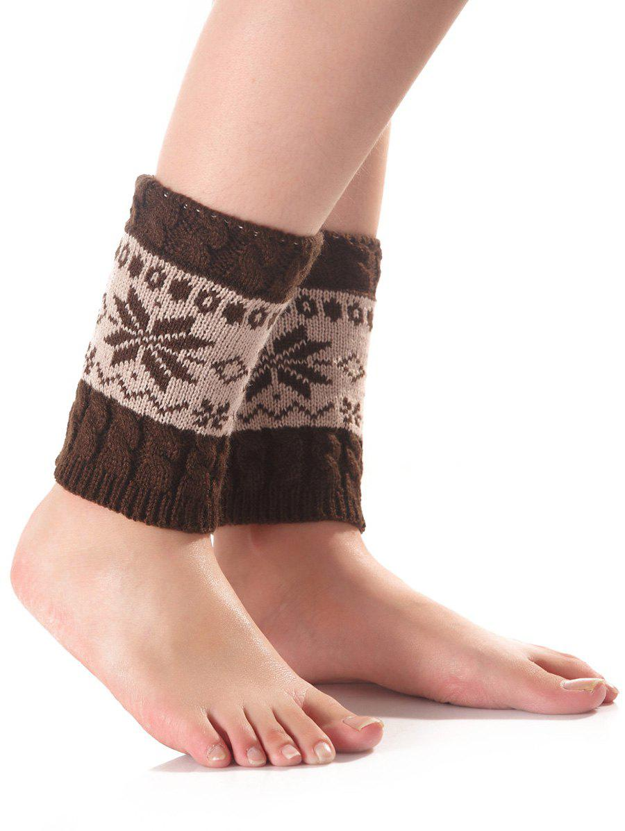Hot Christmas Geometric Pattern Sleeve Socks