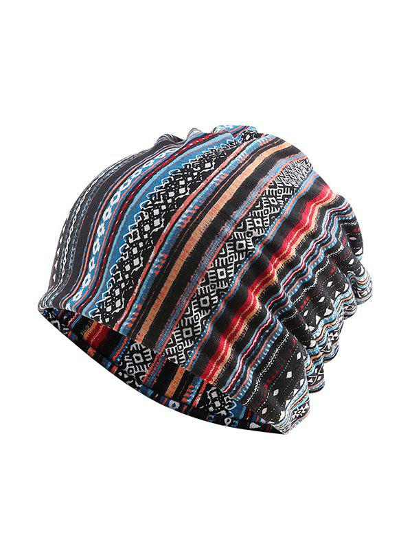 Discount Striped Pattern Sports Scarf Hat