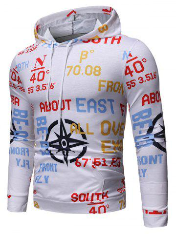 Letter Graphic Print Hoodie