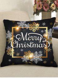 Christmas Greetings Theme Decorative Pillowcase -