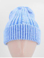 Knitted Soft Elastic Winter Hat -