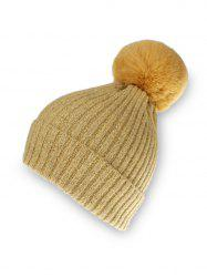 Knitted Solid Winter Hat -