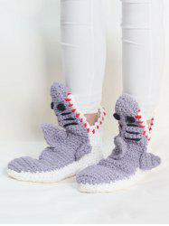 Shark Shape Crochet Home Floor Socks -