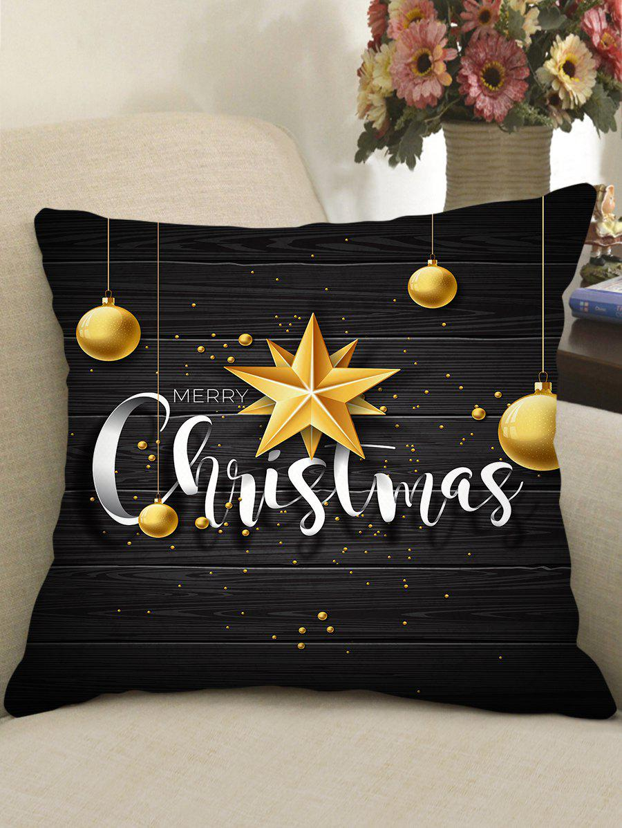 Best Christmas Greetings Theme Decorative Pillowcase