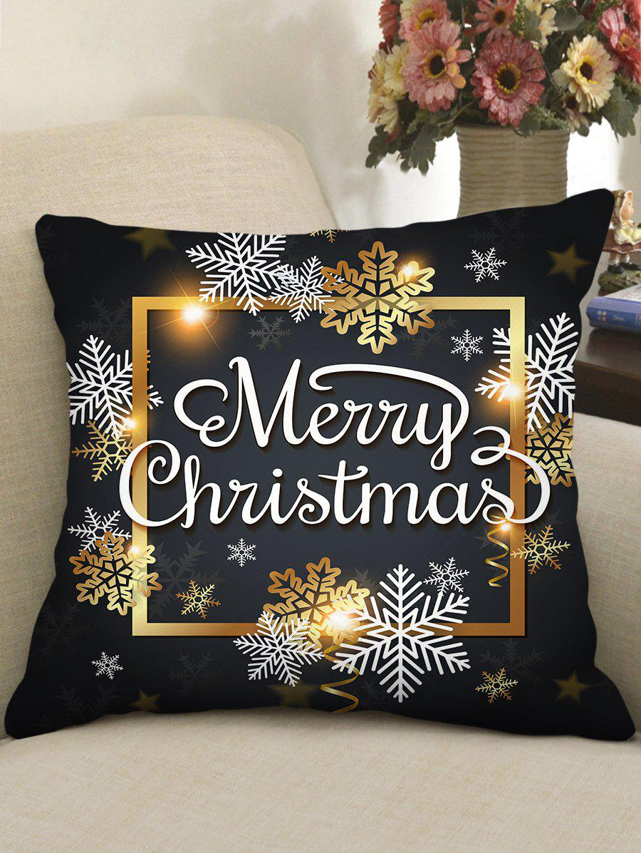 Buy Christmas Greetings Theme Decorative Pillowcase