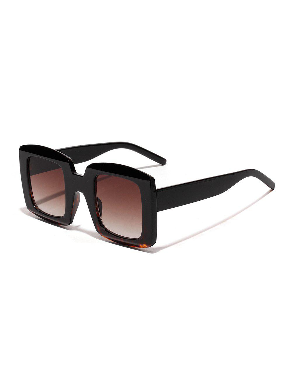 Affordable Oversized Anti UV Square Sunglasses