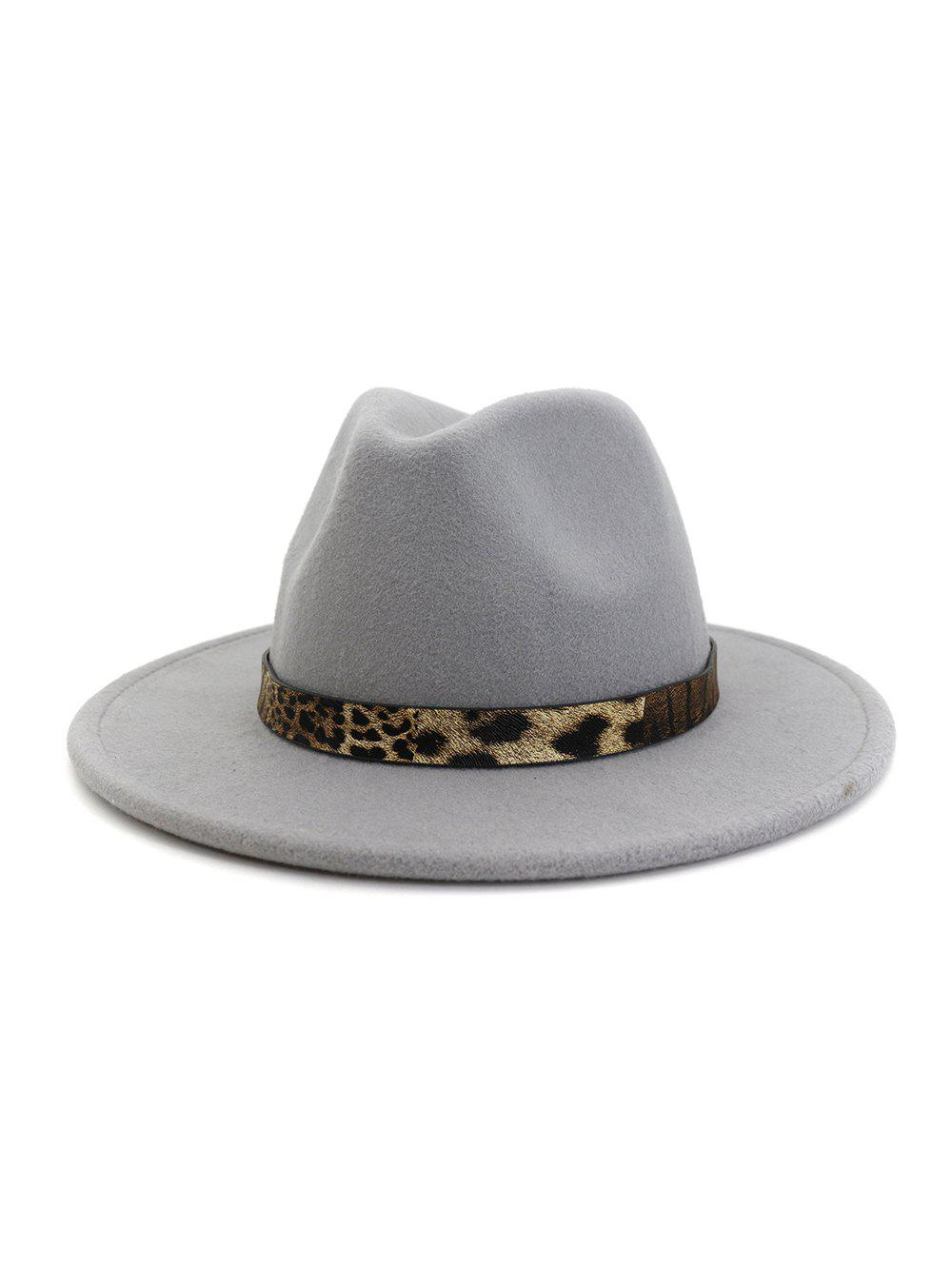 Best Leopard Print Belt Design Jazz Fedoras