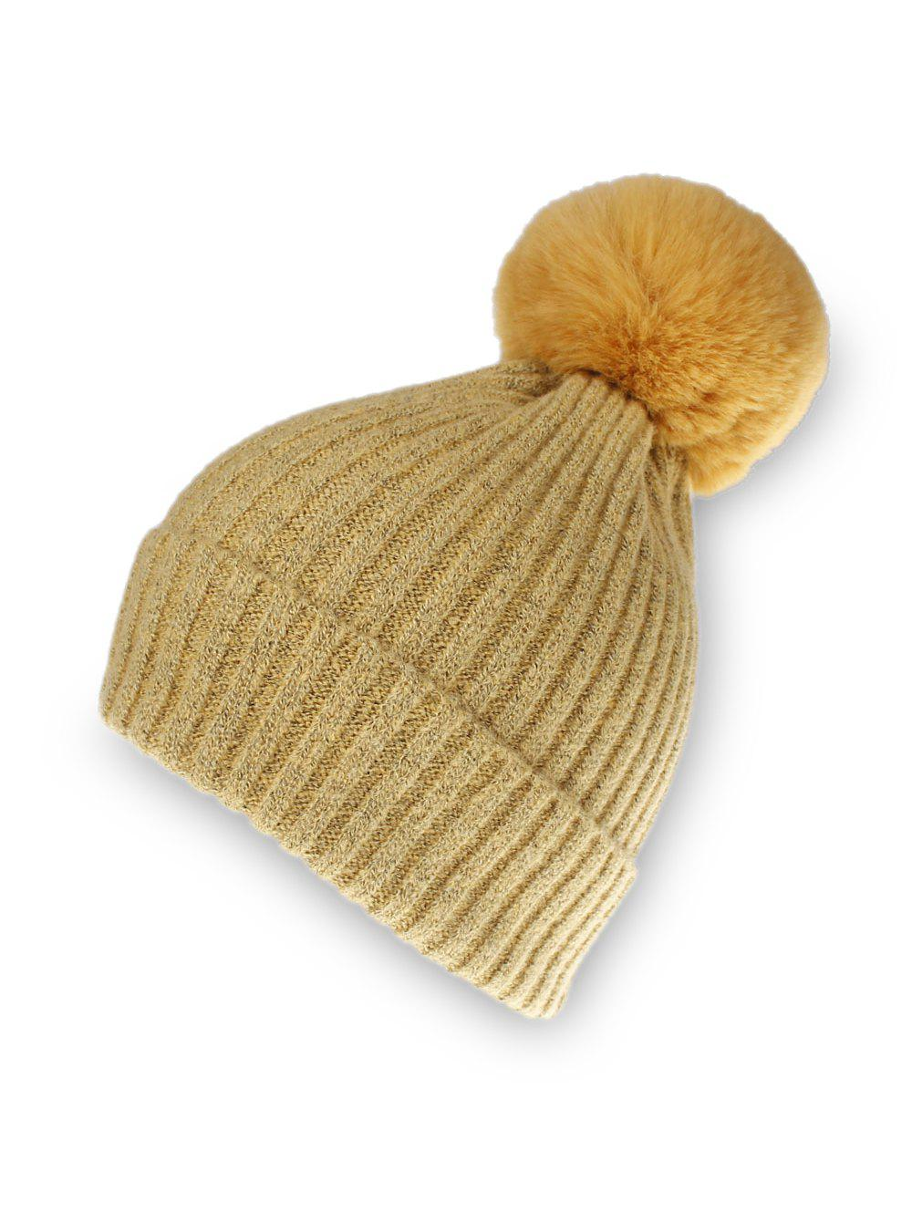 Fashion Knitted Solid Winter Hat