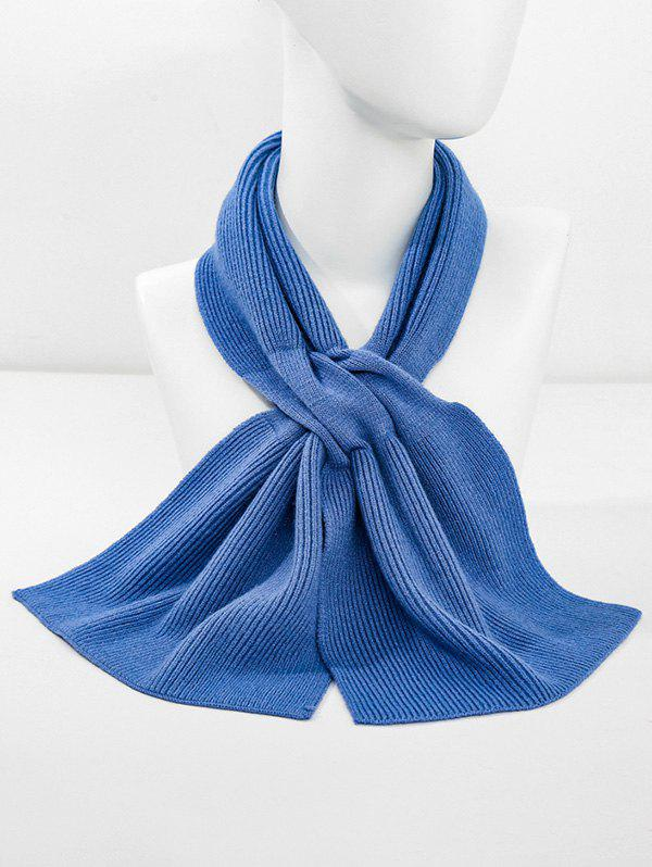 Shops Winter Double-knit Criss Cross Long Scarf