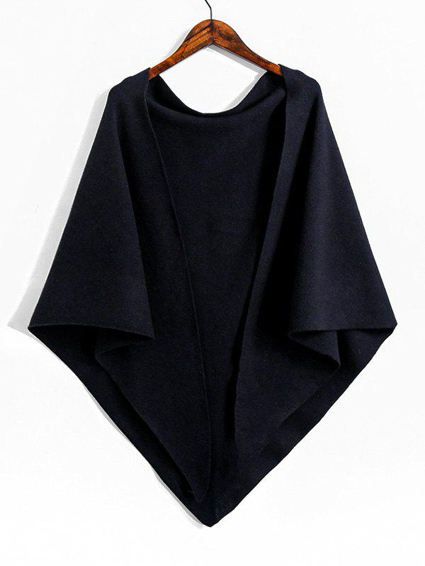New Knitted Faux Cashmere Triangle Shoulder Shawl
