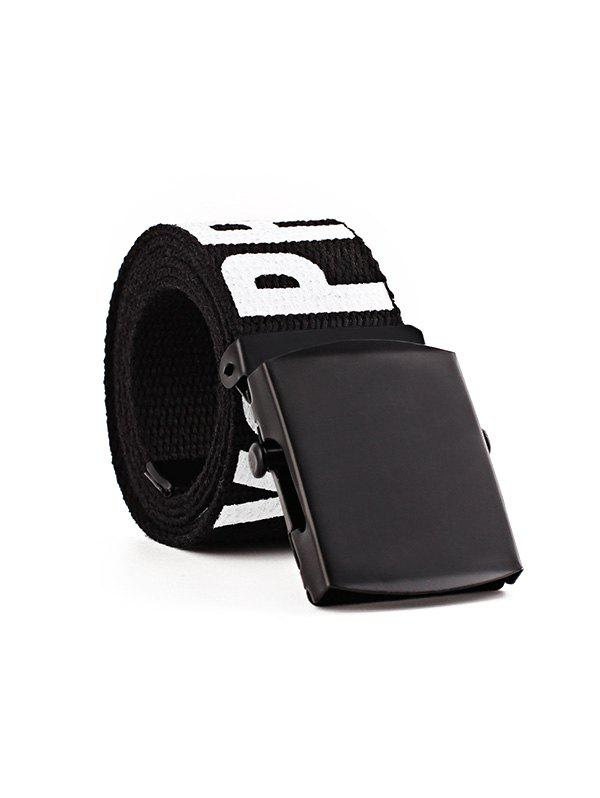 Sale Letter Wide Knitted Buckle Belt
