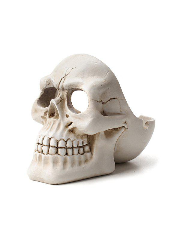 New Halloween Decoration Skull Shape Resin Ashtray