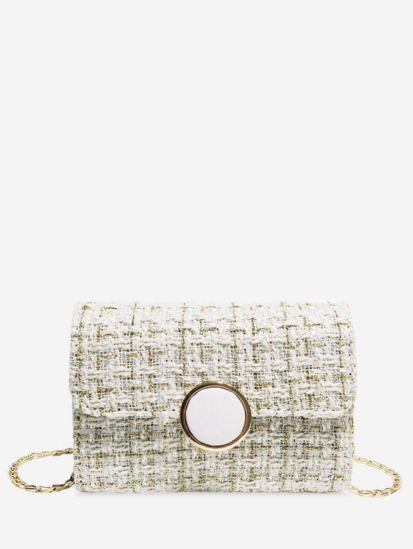 Hot Christmas Square Plaid Chain Shoulder Bag