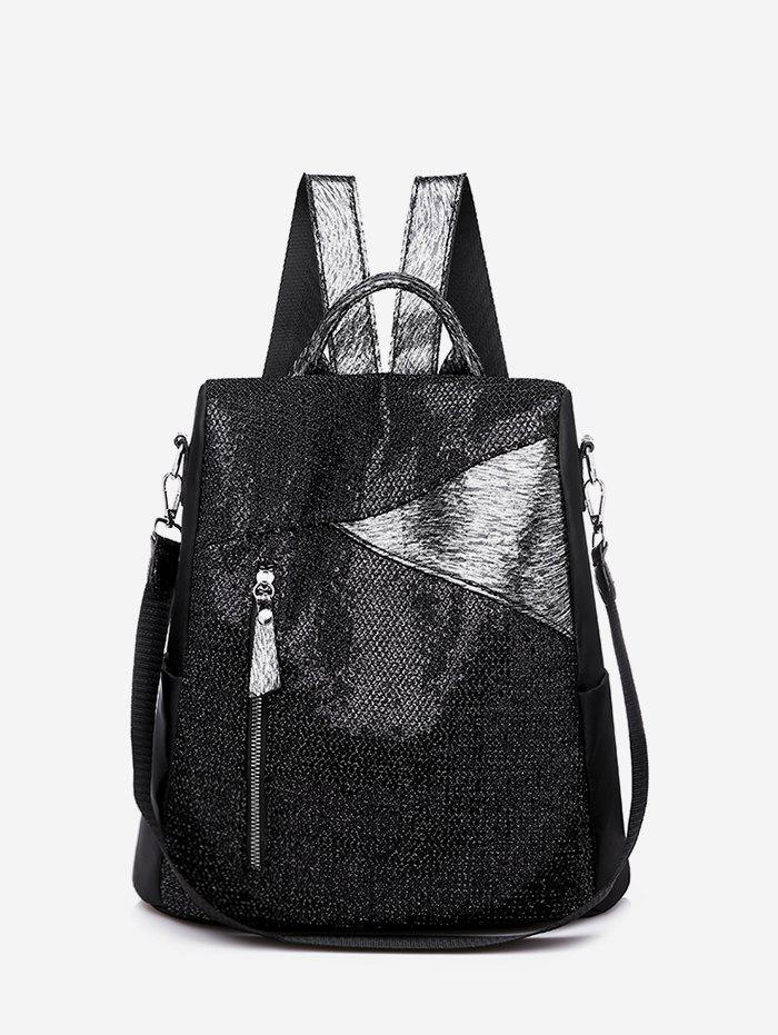 Fashion Christmas Sparkle Sequin Anti-theft College Backpack