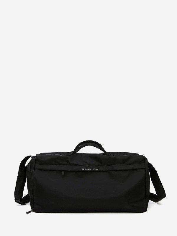 Outfit Plain Large Capacity Canvas Duffel Bag