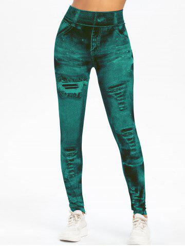 Knit High Waisted Jeggings