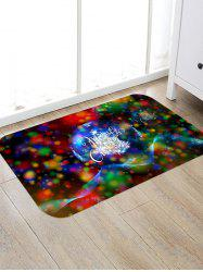 Merry Christmas Pattern Floor Rug -