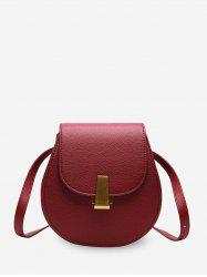 Simple Solid Shell Shape Single Shoulder Bag -