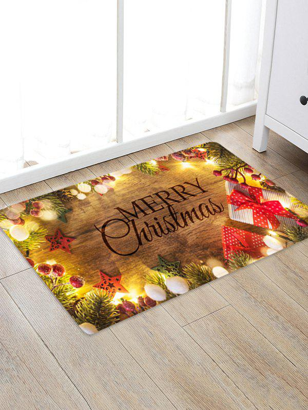 Outfit Christmas Tree Branch Gift Print Floor Rug