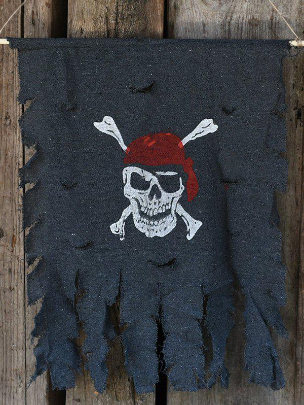 Hot Skull Crossbone Decoration Flag