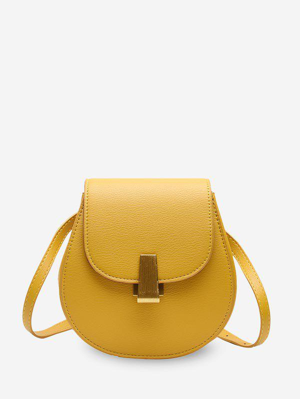 Buy Simple Solid Shell Shape Single Shoulder Bag