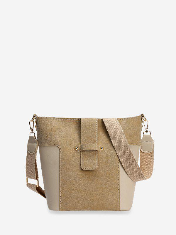Affordable Joint Simple Bucket Tote Bag