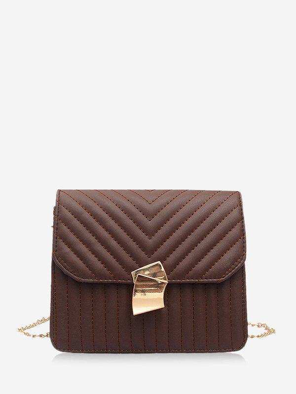 Outfit Crossbody Square Leather Shoulder Bag