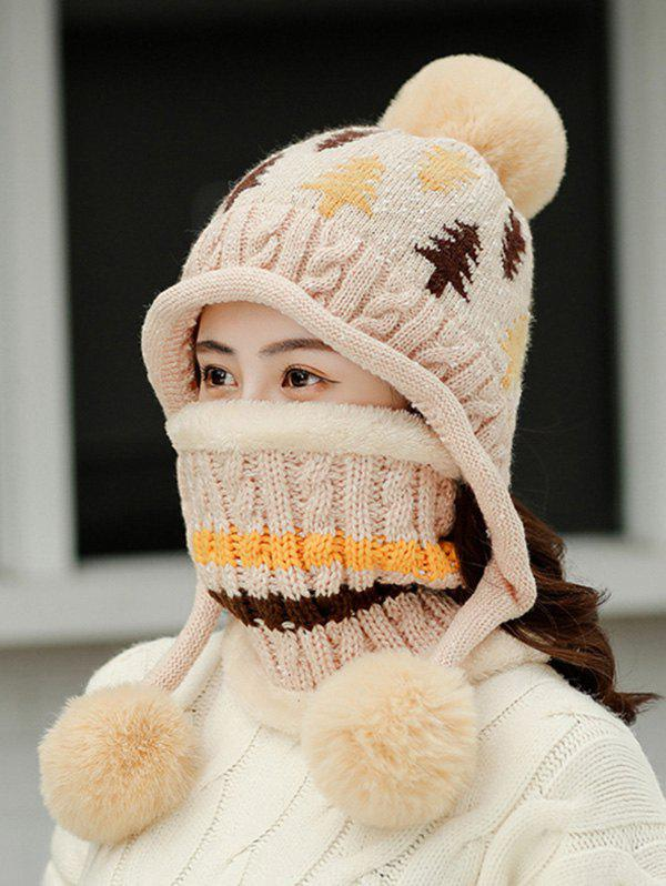 Store Christmas Tree Winter Knit Ear Bubble Hat