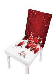 Christmas Pattern Elastic Chair Covers -