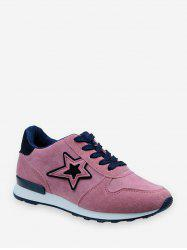Star Graphic Low Top Outdoor Sneakers -