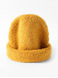 Winter Unisex Solid Knitted Skullcap Hat -