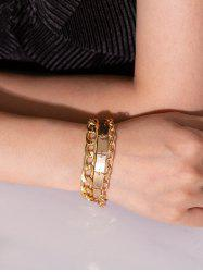 Chain Metallic Punk Street Bracelet -