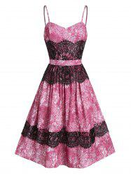 Sweetheart Neck A Line Lace Strap Dress -