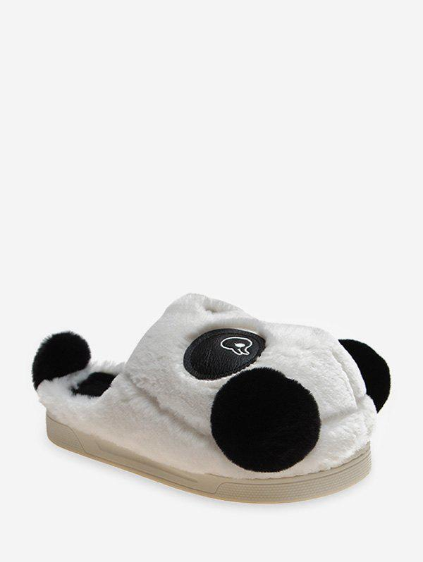 Outfit Cute Panda Plush Warm Slippers