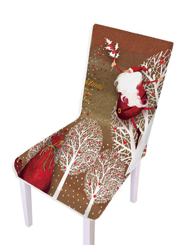 Chic Christmas Pattern Elastic Chair Covers