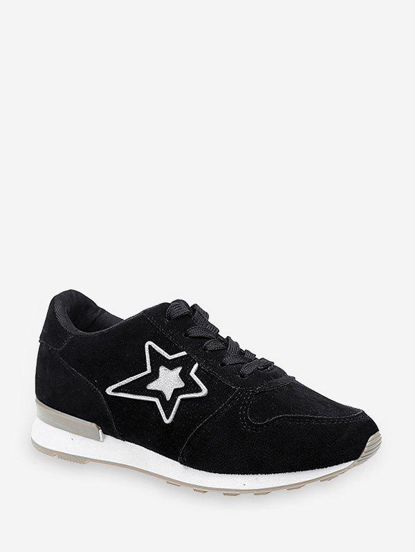 Online Star Graphic Low Top Outdoor Sneakers