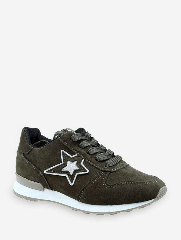 Best Star Graphic Low Top Outdoor Sneakers