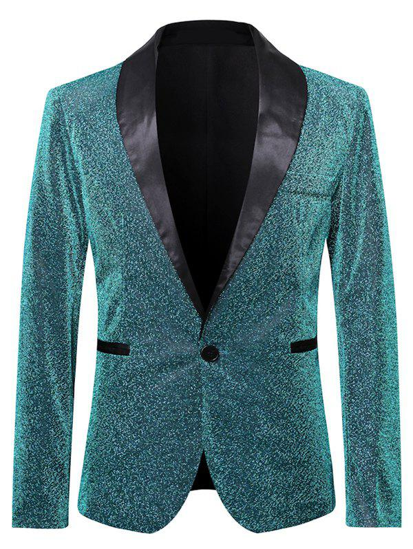 Outfits Glitter Club Lapel Collar Casual Blazer