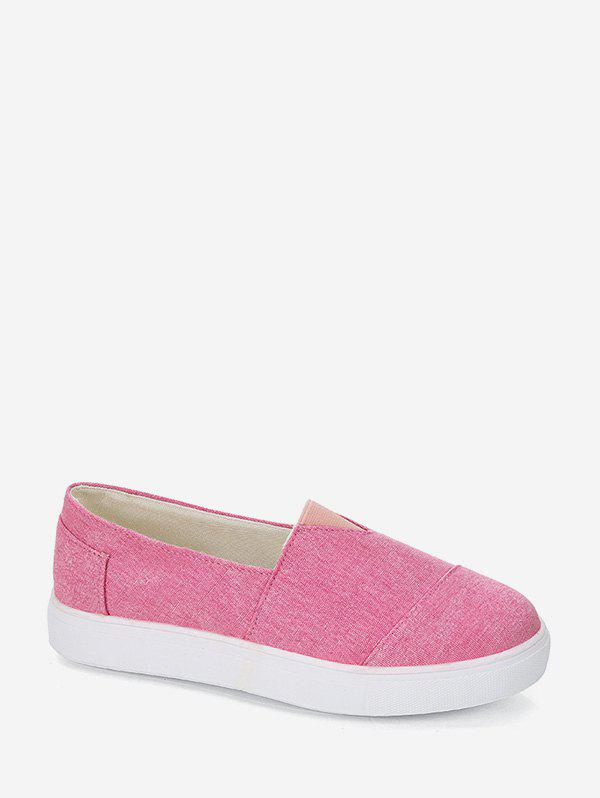 Outfits Comfortable Round Toe Slip On Flat Shoes