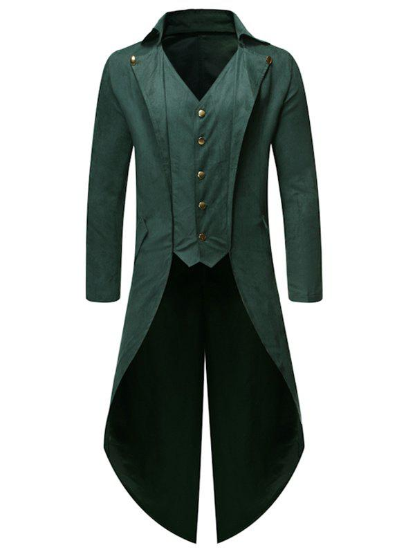 Latest Button Decoration Long Sleeves Casual Blazer