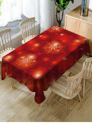 Christmas Fabric Waterproof Table Cloth -