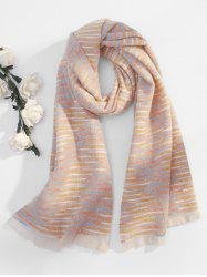 Faux Woolen Winter Thick Tassel Scarf -