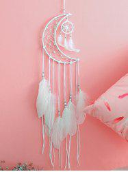 Moon Dream Catcher Feather Hanging Decoration -